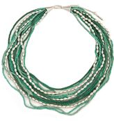 Kenneth cole new york beaded layered necklace
