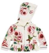 Dolce & Gabbana Baby's Floral Hooded Jacket