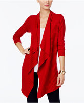 INC International Concepts Draped Open-Front Cardigan, Only at Macy's