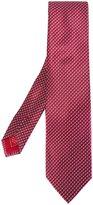 Brioni square print tie