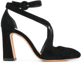 Alexandre Birman strappy sandals - women - Chamois Leather/Leather - 35.5