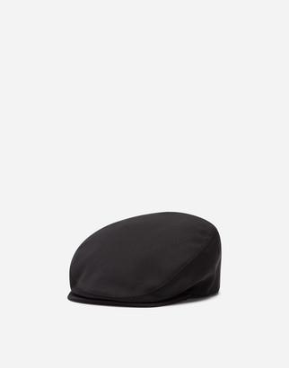 Dolce & Gabbana Flat Cap In Wool