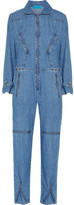 MiH Jeans Chambray Jumpsuit - Mid denim