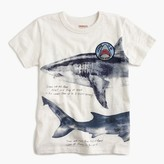 "J.Crew Boys' ""license to be jaw-some"" shark T-shirt"