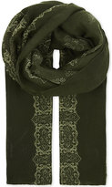 The Kooples Skull Print Scarf