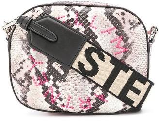Stella McCartney Stella Logo snake-print belt bag