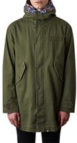 Pretty Green Cassidy Parka Jacket, Khaki