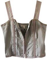 Twenty8Twelve By S.miller Grey Silk Top for Women