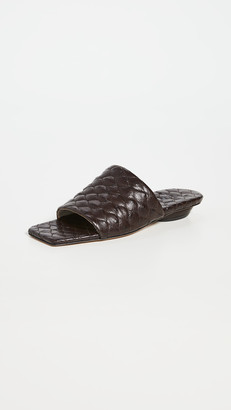 Tibi Han Quilted Sandals