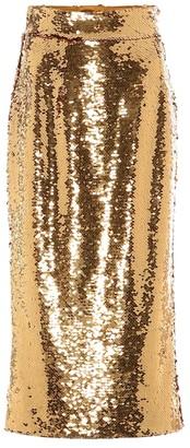 Dolce & Gabbana Sequined pencil skirt