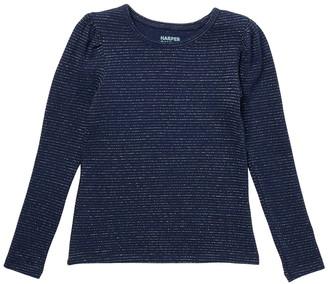 Harper Canyon Puff Sleeve Metallic T-Shirt