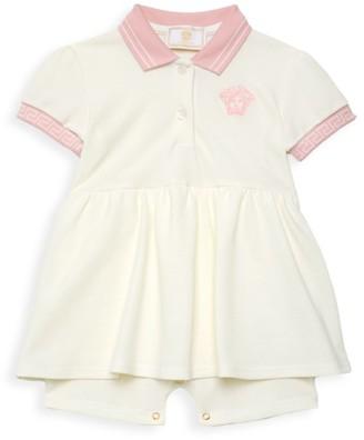 Versace Baby Girl's Tutina Peplum Dress