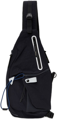 Master-piece Co Navy Game Sling Backpack