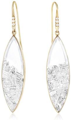 Moritz Glik Diamond Marquise Shaker Drop Earrings