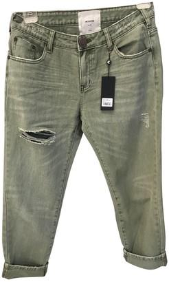 One Teaspoon Green Denim - Jeans Trousers for Women