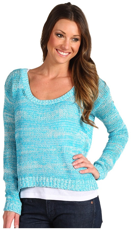 Roxy Moon Rock Sweater (Caribbean) - Apparel