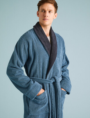 Marks and Spencer Big & Tall Pure Cotton Dressing Gown