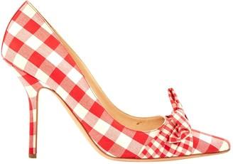 Moschino Multicolour Cloth Heels