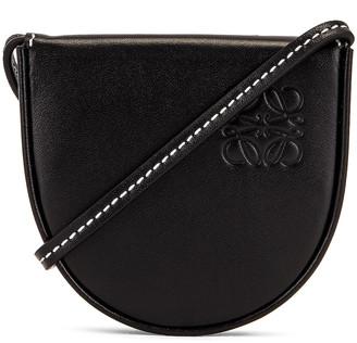 Loewe Heel Mini Pouch Bag in Black | FWRD