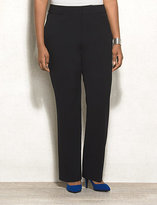 dressbarn roz&ALI Signature Fit Bi-Stretch Straight Pants Plus