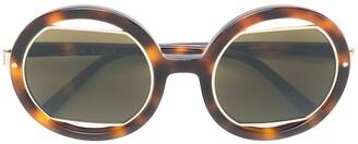 Marni Oversized Round Sunglasses