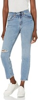 Thumbnail for your product : Silver Jeans Co. Women's Not Your Boyfriend's Mid Rise Slim Leg Jeans