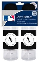 Baby Fanatic Mlb Chicago White Sox Baby Bottles, 2-pack