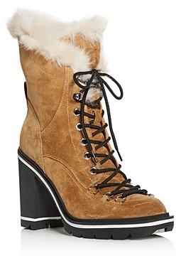 Sigerson Morrison Women's Odelia Block High-Heel Platform Boots