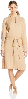Bedhead Pajamas Women's Cashmere Robe Camel