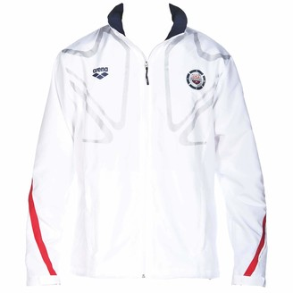 Arena Official USA Swimming National Team Unisex Zip Warm-Up Jacket