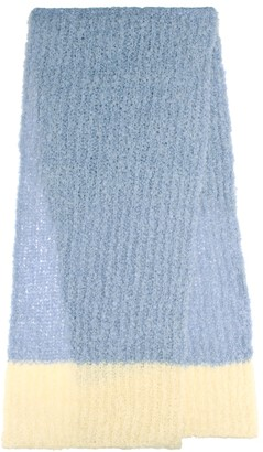 Jacquemus L'Echarpe wool and mohair scarf