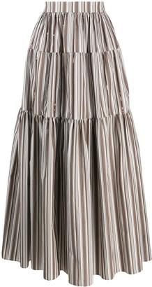 Brunello Cucinelli maxi peasant skirt