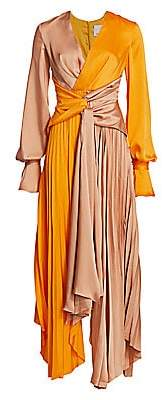 Acler Women's Empire Two-Tone Gown