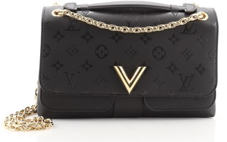 Louis Vuitton Very Chain Bag Monogram Leather