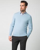 Le Château Textured Cotton Blend Sweater