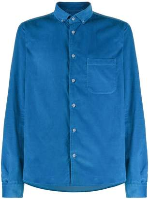YMC long sleeved corduroy shirt