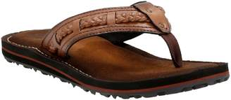Clarks Collection Flip Flops with Braided Trim- Fenner Neric