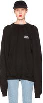 Vetements Oversized Sweatshirt Unidad Hombres