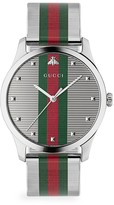 Gucci G-Timeless Stainless Steel & Mesh Bracelet Watch