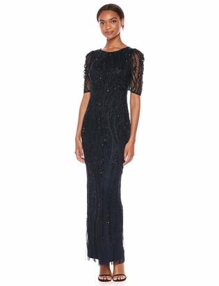 Adrianna Papell Women's Beaded Long Dress
