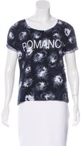 Sandro Printed Short Sleeve T-Shirt