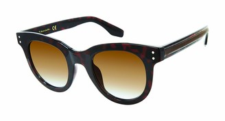 Tahari Women's TH775 Round Sunglasses with 100% UV Protection 47 mm