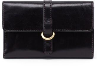 Hobo Vinn Leather Trifold Wallet