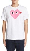 Comme des Garcons Men's Heart Print T-Shirt