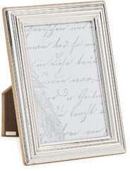 "Monica Rich Kosann Tapered Sterling Silver Picture Frame, 4"" x 6"""