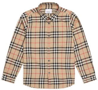 Burberry Kids Vintage Check Flannel Shirt (3-12 Years)