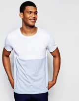 BOSS ORANGE By Hugo Boss T-Shirt With Color Block Regular Fit In White