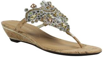 J. Renee Marsiella Low Wedge Sandal