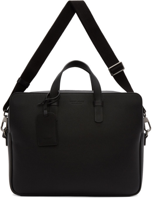4b65e11d98 Black Large Two Day Briefcase