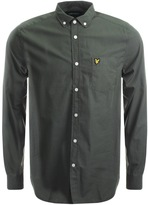 Lyle & Scott Garment Dye Shirt Green